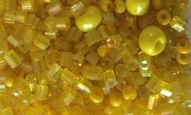 Kraaltjes mix geel