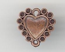 Hanger hart 18 x 18 mm