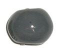 Keramiekkraal grijs 12,5 mm
