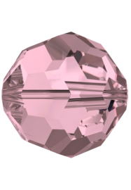 Kraal 5000 rond 4mm Chrystal Antique Pink (001)