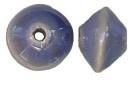 Tolvormige kraal 17 mm Paars