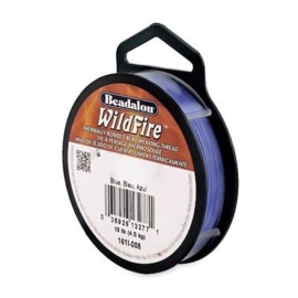 Beadalon Wildfire blauw 0,15 mm / 18,3 meter