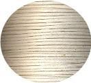 Waxkoord Wit 1,5 mm met glanslaag