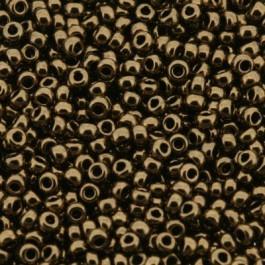 Miyuki Rocailles 11/0 0457 Metallic Dark Bronze per 2½ gram