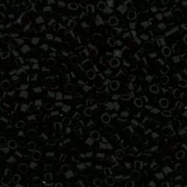 Miyuki Delica 11/0 DB-0010 Opaque Black