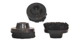 10-9910 DSR-Fixx ø32 mm voor harde vloer Zwart