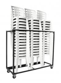 Transportkar voor 45 Grosfillex Bistro stoelen