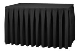 Combirok Boxpleat 180 x 60 cm Zwart - 73 cm hoog