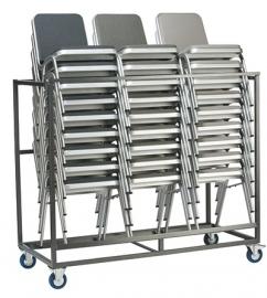 Transportkar voor 30 Stackchairs Buster