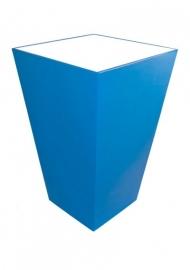 Statafel Conic 70 x 70 cm Blauw