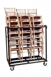 Transportkar voor 21 Ballroom stoelen