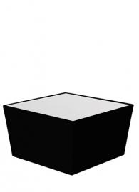 Conic Lounge 70 x 70 cm Zwart
