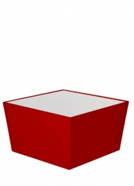 Conic Lounge 70 x 70 cm Rood