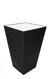 Statafel Conic 70 x 70 cm Zwart