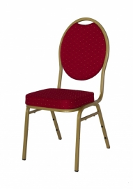Stackchair Budget goud / rood