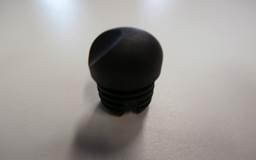 Framedop (insteekdop) voor klapstoel De Luxe zwart