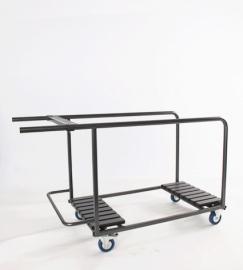 Transportkar voor ronde klaptafels Ø 120-122 cm