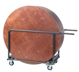 Transportkar voor ronde klaptafels Ø 150-183 cm