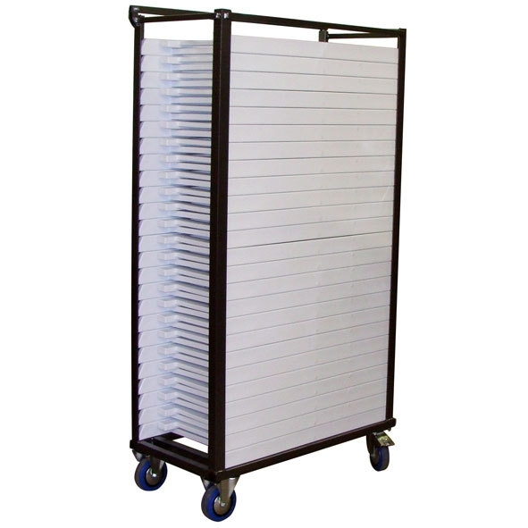 Transportkar voor 25 wedding chairs