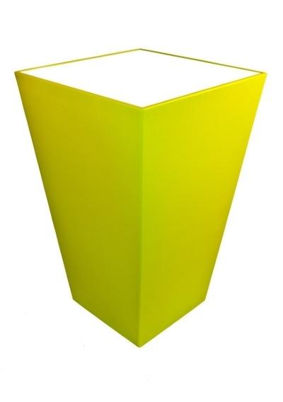Statafel Conic 70 x 70 cm Lime