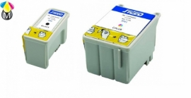 SET : Epson T040 black + T041 color