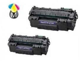 2 x HP toner Q 7553A Black