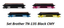 Voordeelset TN-135 Black cmy