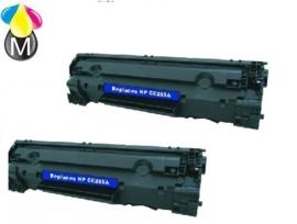 2 x HP toner CE 285 A ( 85A ) Black