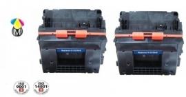 2 x HP toner CC 364X ( 64X ) Black