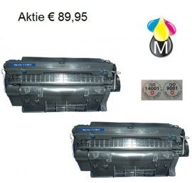 2 x HP toner Q 7551X Black