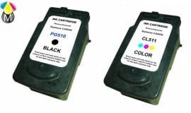 Inktcartridges Canon PG-510XL - CL-511XL
