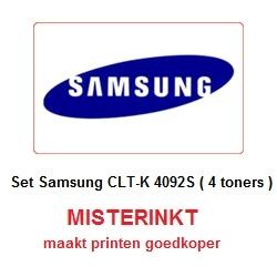 Set Samsung CLT-K 4092S ( 4 toners )