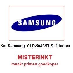 Set Samsung CLT-504S/ELS ( 4 toners )