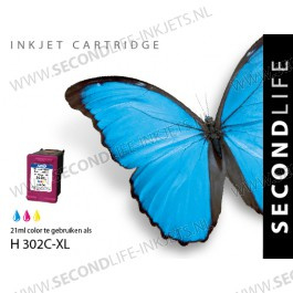 HP-302C XL inktcartridge