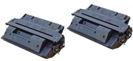 HP toner C 4127X ( 27X  ) Black 2 stuks