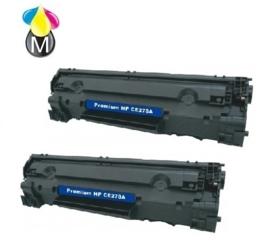 2 x HP toner CE 278A ( 78A ) Black