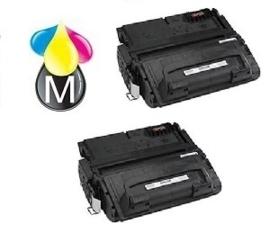 2 x HP toner Q 5942A Black
