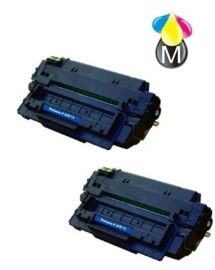 2 x HP toner Q 7551A Black