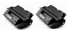 HP toner C 8061X ( 96A  ) 2 stuks