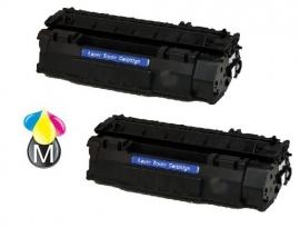 HP CF280A 2 toners (80A)