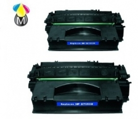 2 x HP toner Q 7553X Black