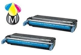 2 x HP toner C 9730A ( 645A  ) Black