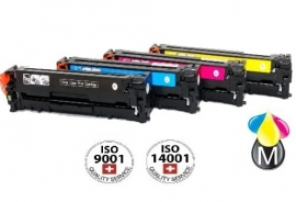 Set HP toners CB 540A