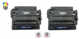 2 x HP toner CE 255X ( 55X )