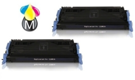 2 x HP toner Q 6000A Black