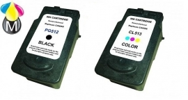 Voordeel set Canon PG-512XL - CL-513XL