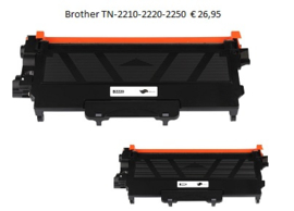 2 x Brother TN-2010