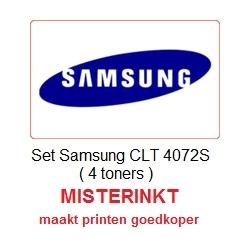 Set Samsung CLT- 4072S ( 4 toners )
