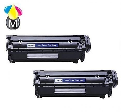 HP toner Q 2612A Black
