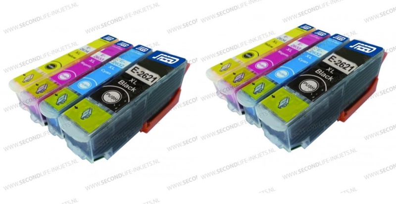 2 x Epson (26XL) T2636  Multipack
